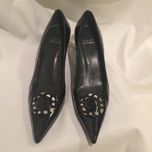 STUART WEITZMAN leather pumps size 8